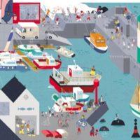 Vernissage exposition Des voyages et des images avec La Maison est en carton en présence de l'éditrice Manon Jaillet – Avec les rendez-vous mellois en Poitou – Vendredi 31 Mai